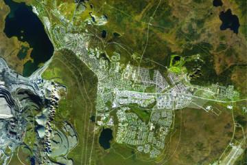 Map of Kiruna