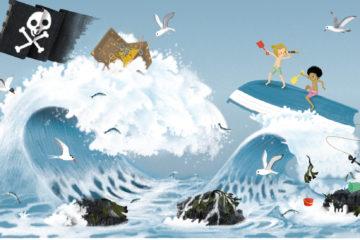 Carl et Elsa prennent le large : texte Jenny Westin Verona, illustration Jésus Verona, Ed. Cambourakis