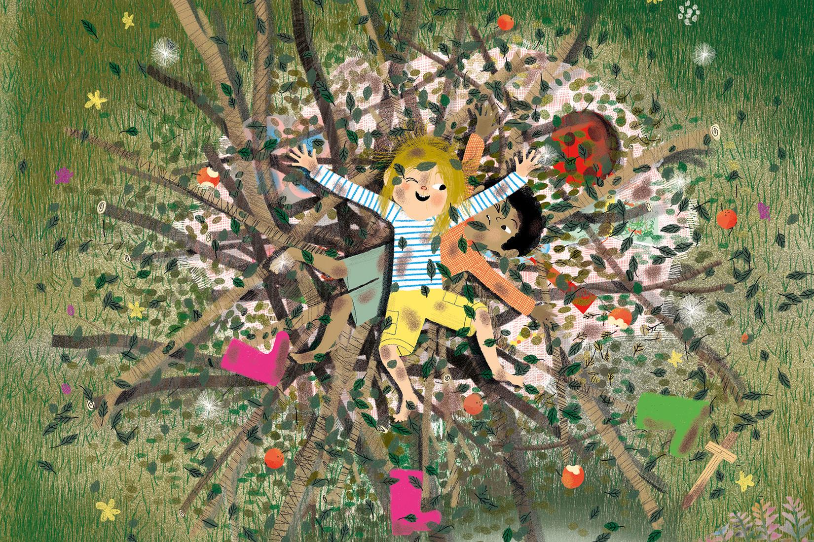 Carl et Elsa s'échappent : texte Jenny Westin Verona, illustration Jésus Verona, Ed. Cambourakis 2016