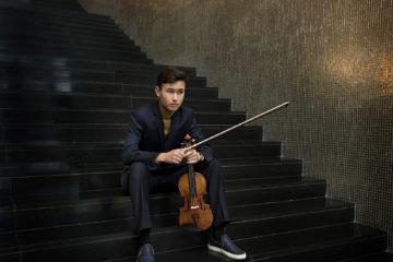 portait du jeune violoniste suédois Daniel lozakovich