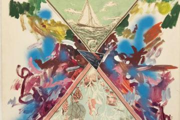 extrait de l'oeuvre peinture d'erik Dietman
