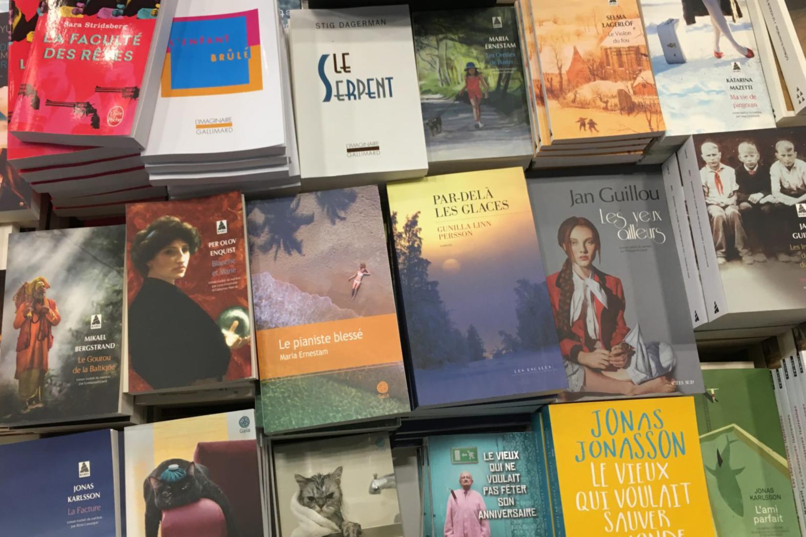 Couvertures de livres suédois traduits en français