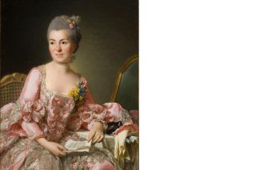 Un portrait de la femme de Roslin