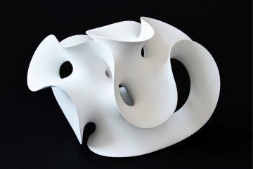 White sculpture